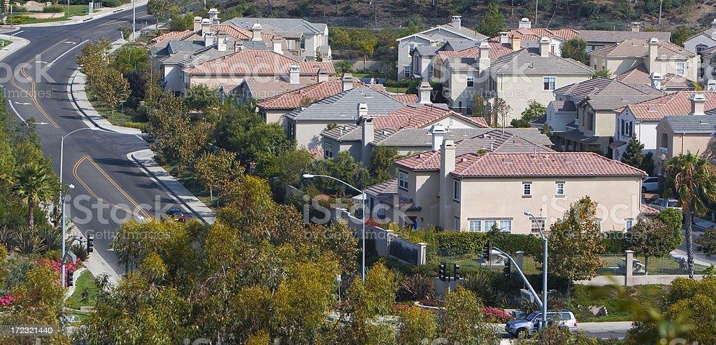 homes - Orange County royalty-free stock photo