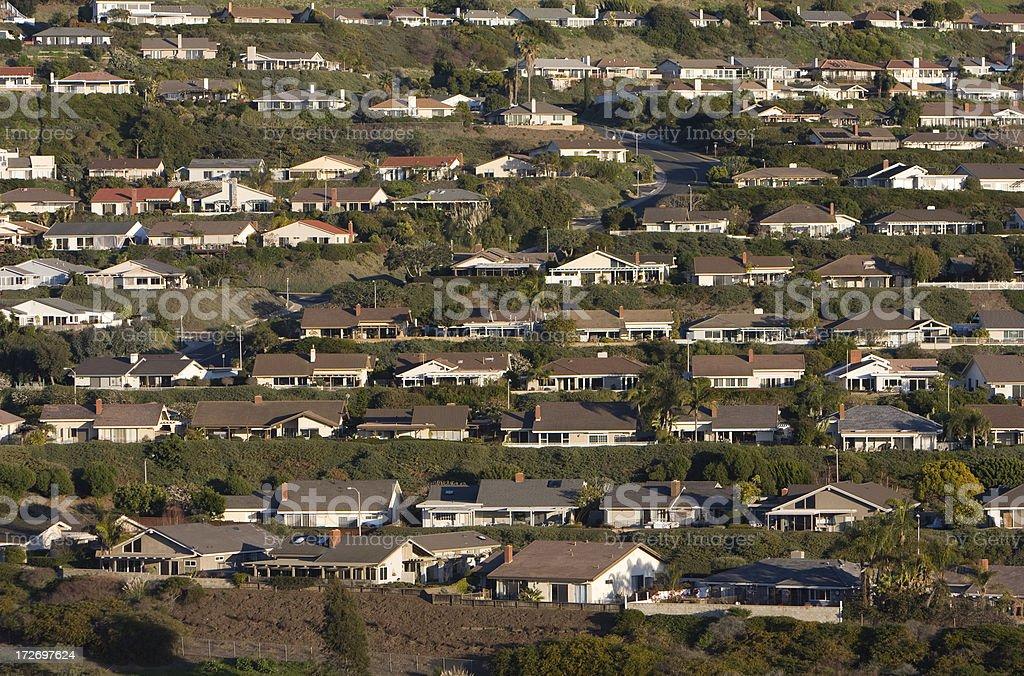 Homes- Orange County stock photo