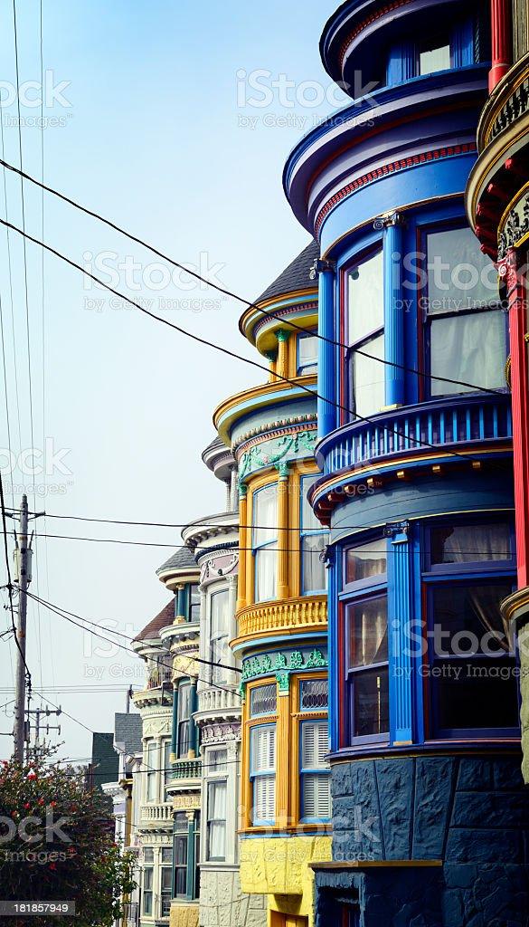 Homes, San Francisco. royalty-free stock photo