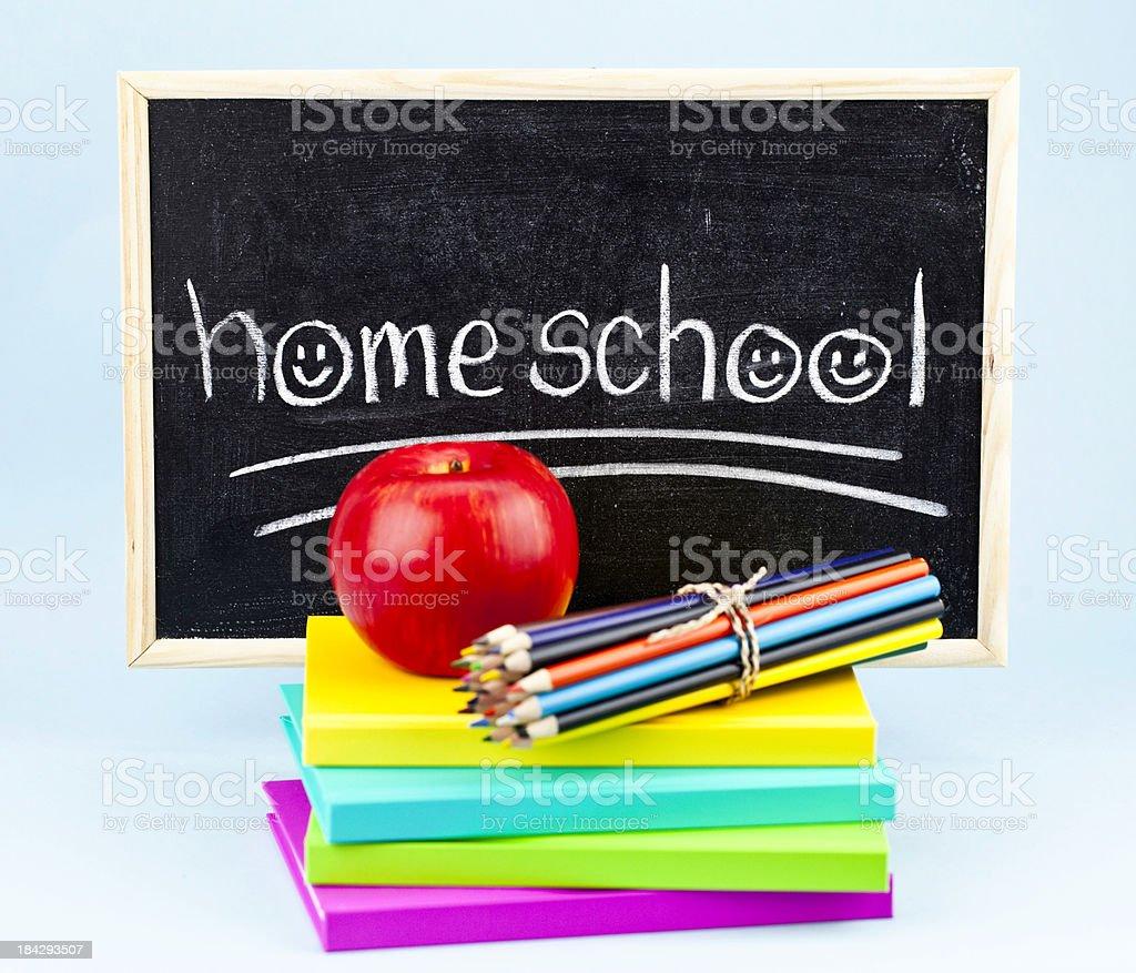 Homeschool royalty-free stock photo