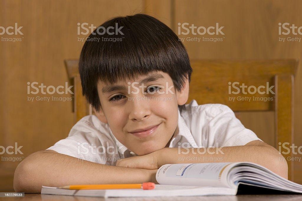 Homeschooler stock photo
