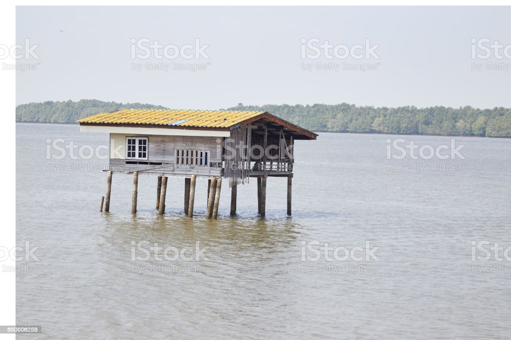 Homestay in the Gulf stock photo