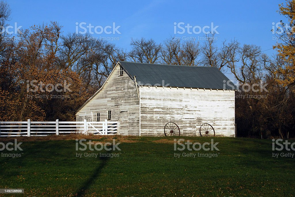 Homestead Barn royalty-free stock photo