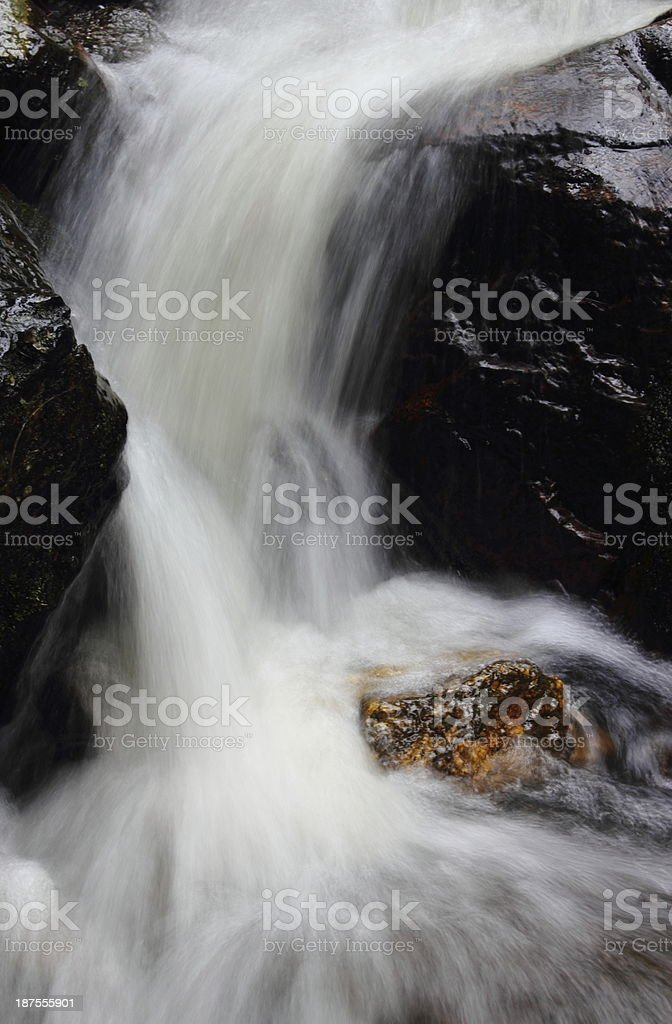 Homestead Trail Waterfall royalty-free stock photo