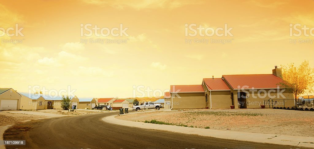 Homes,USA stock photo