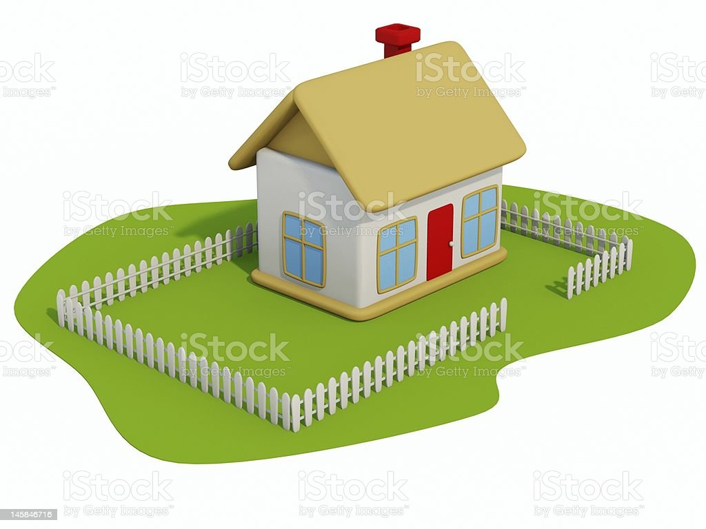 Home-toy royalty-free stock photo