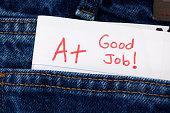 Homework or Exam Graded  A+ and Good Job
