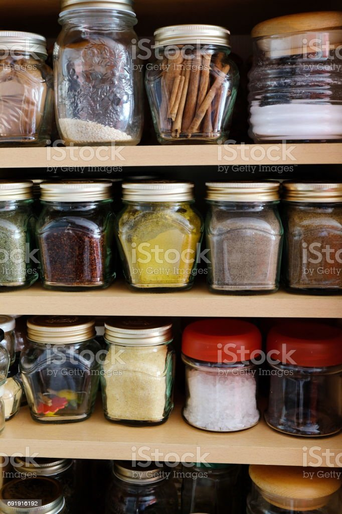 hommade spicies stock photo