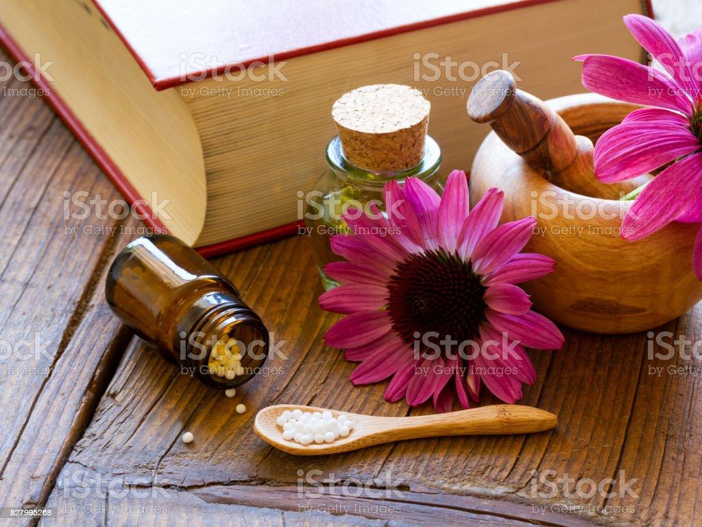 Homöopathie stock photo