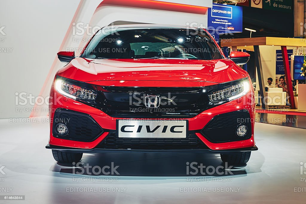 2016 Honda Civic Hatchback stock photo