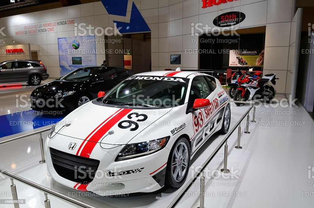 Honda CRZ race car royalty-free stock photo