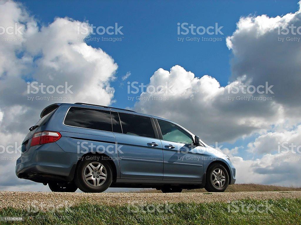 Honda Odyssey royalty-free stock photo