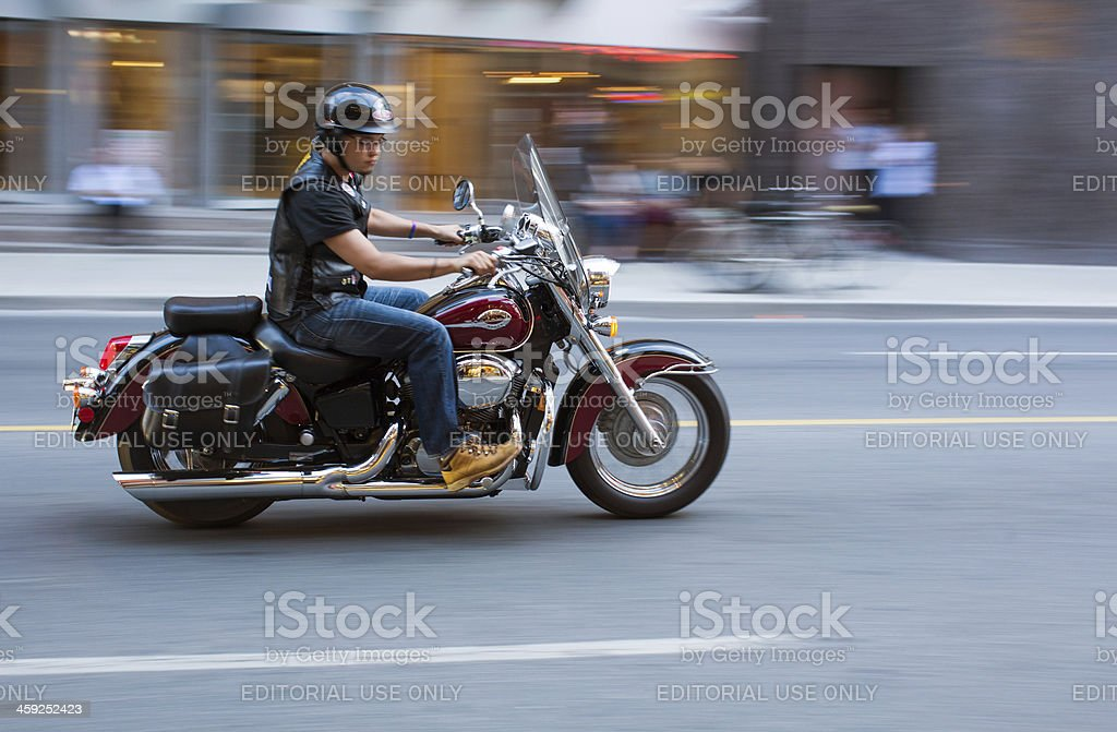 honda shadow bike royalty-free stock photo