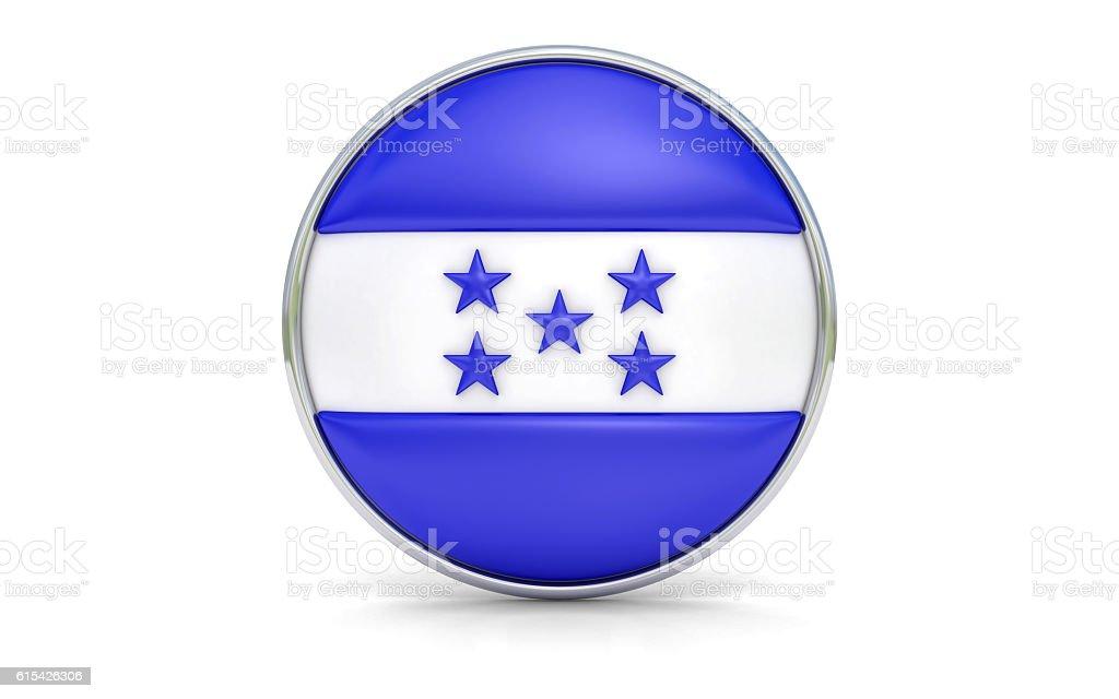 Honduran flag stock photo