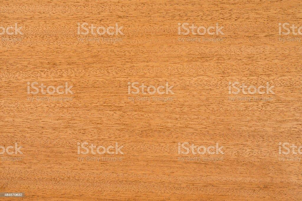Honduran mahogany wood grain / texture. stock photo