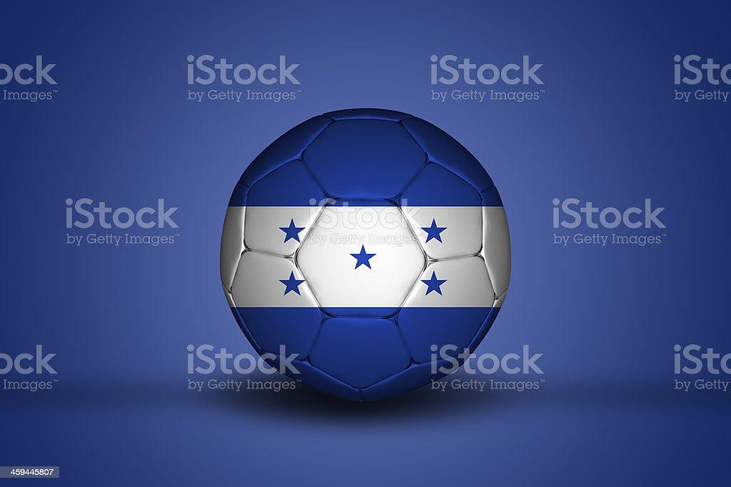 Honduran soccer ball stock photo