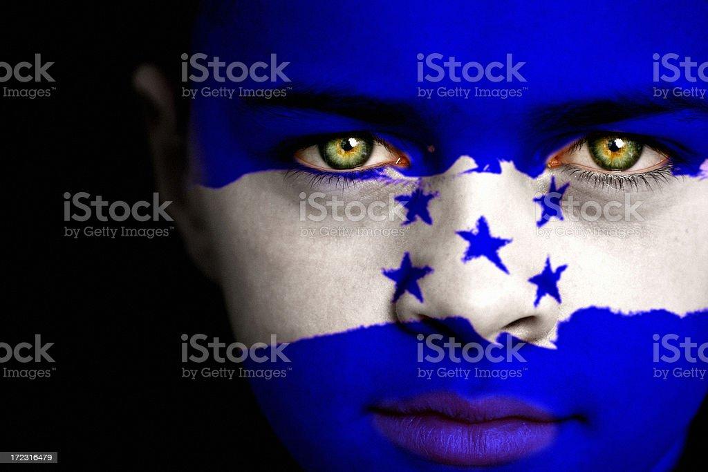 Honduras boy stock photo