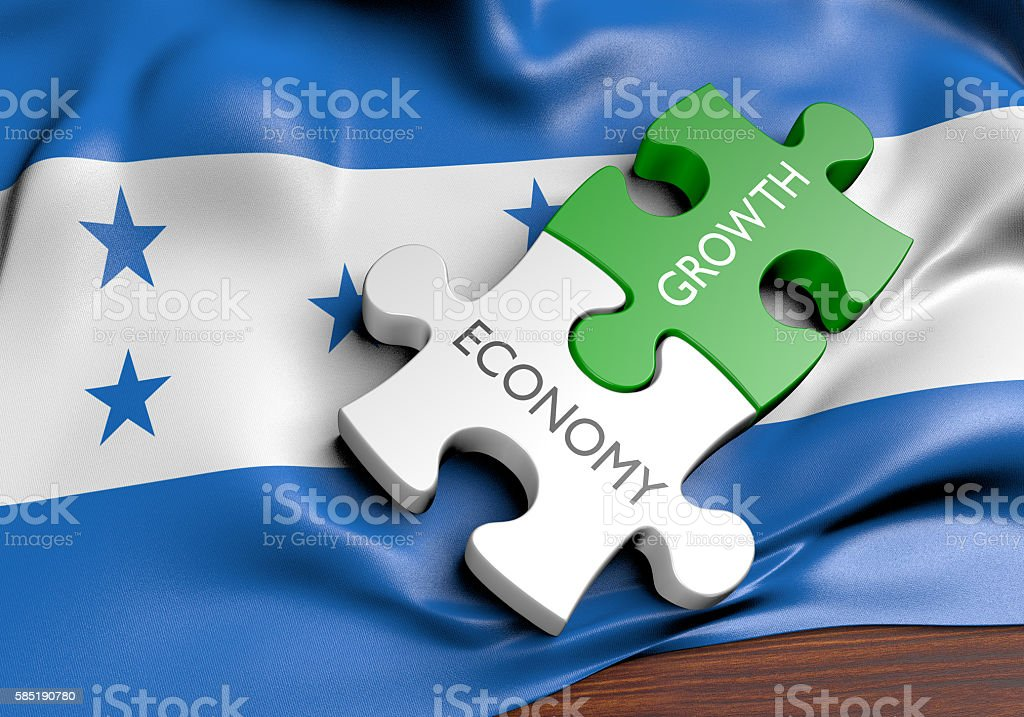 Honduras economy and financial market growth concept, 3D rendering stock photo