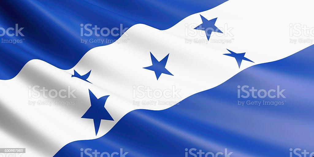 Honduras flag. stock photo