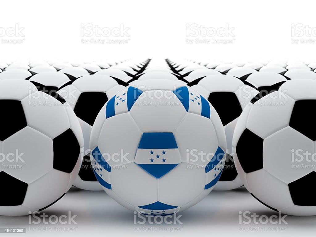 Honduras football stock photo