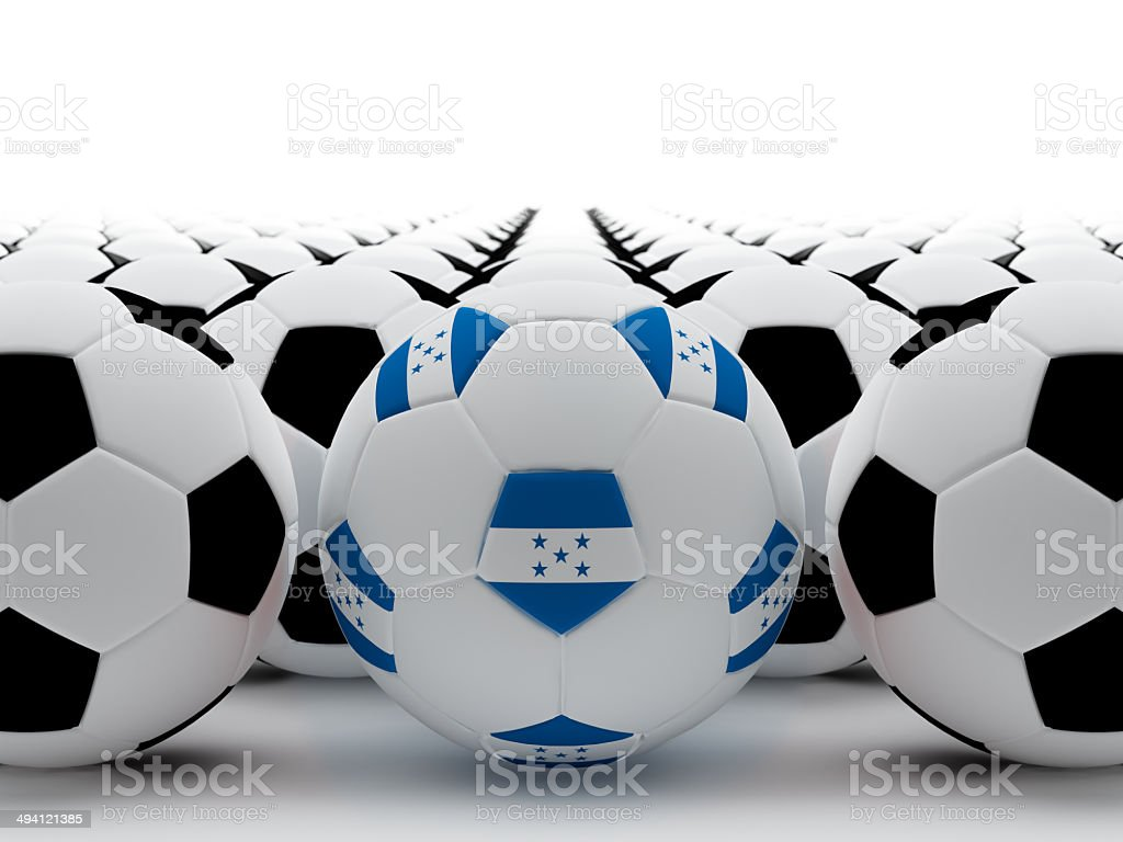 Honduras football stock photo