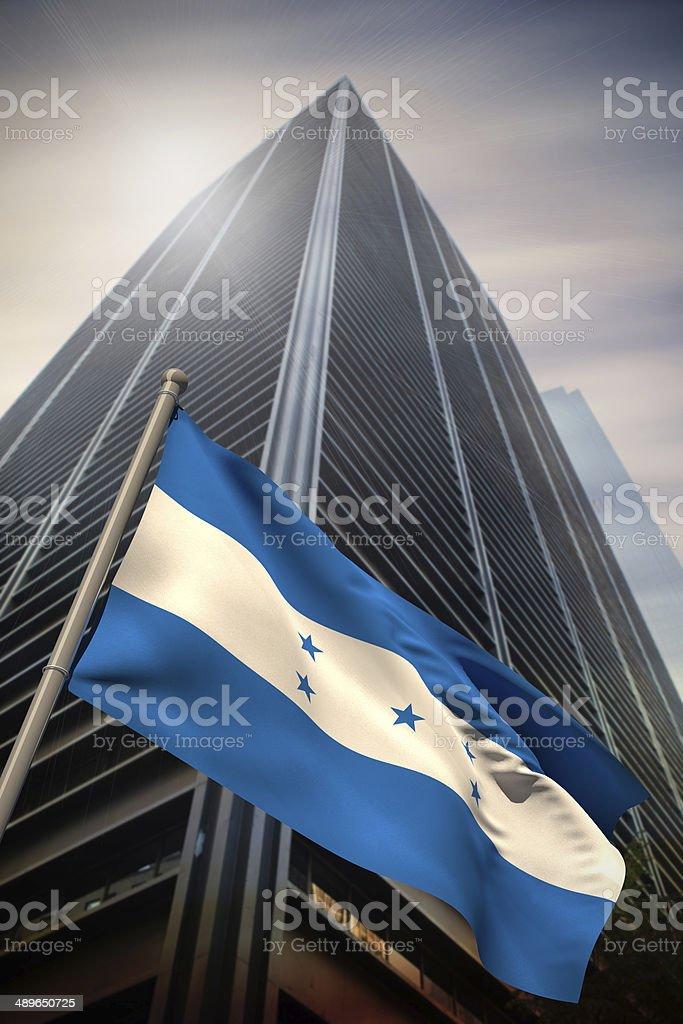 Honduras national flag stock photo