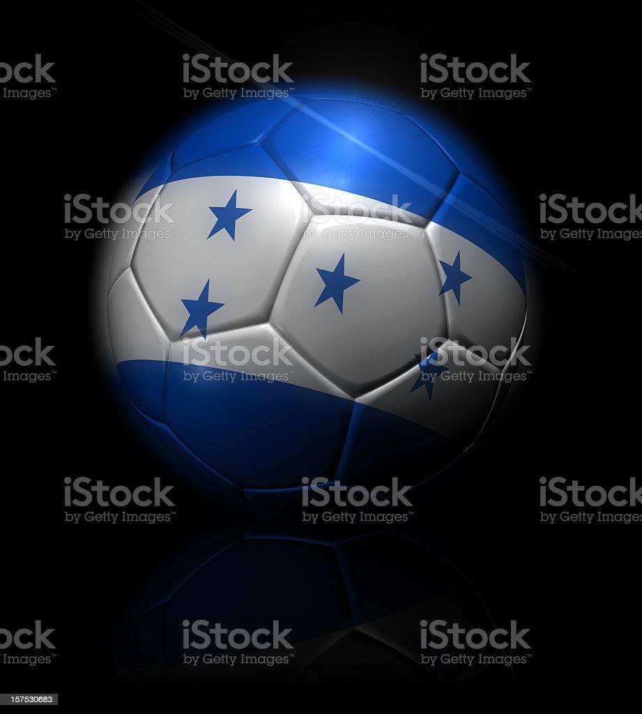 honduras soccer ball royalty-free stock photo