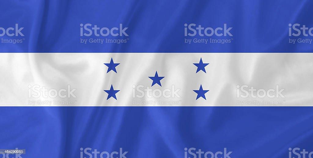 Honduras waving flag stock photo