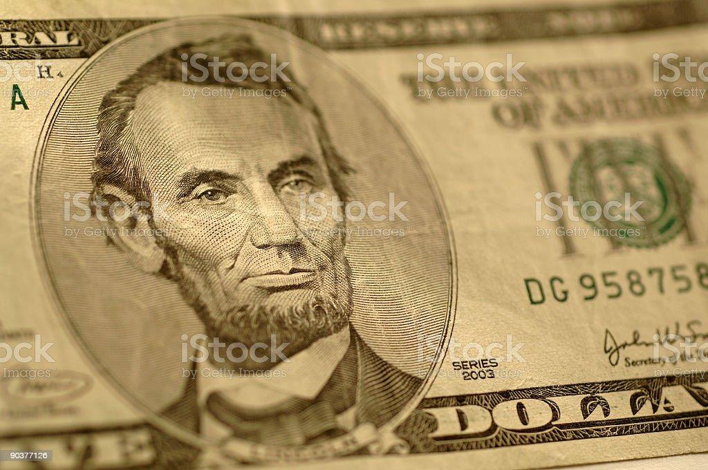 Sincero Abe foto de stock libre de derechos
