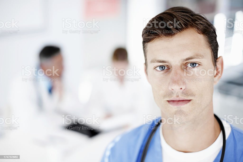Honest and reliable healthcare stock photo
