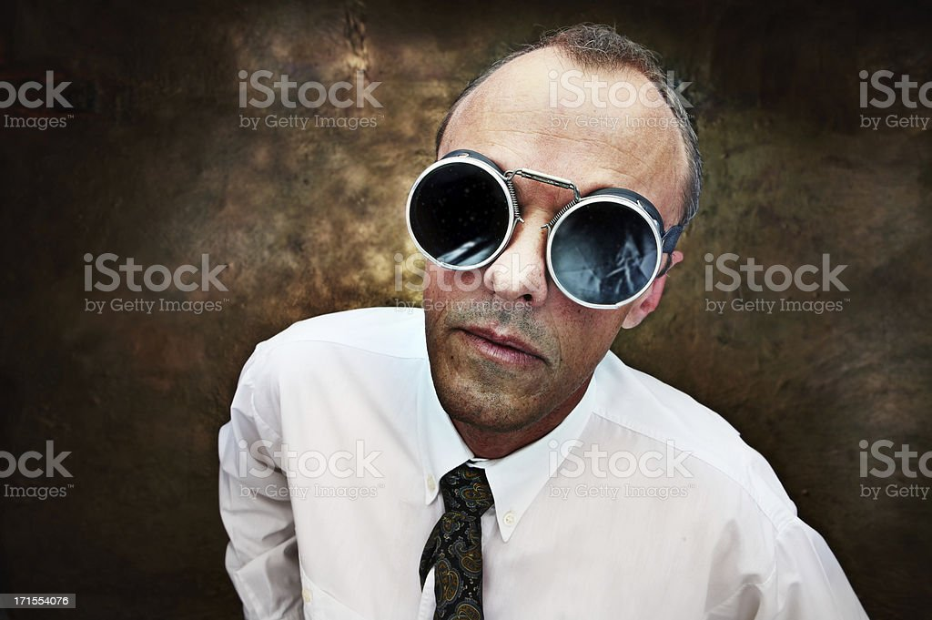 Honest businessman stock photo