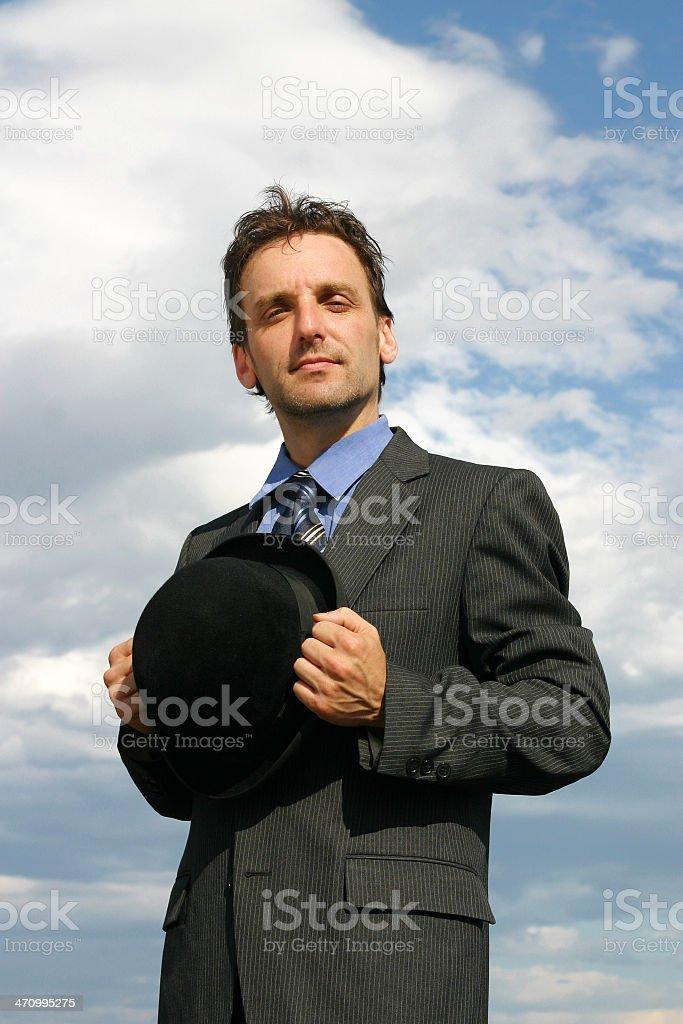 Honest businessman royalty-free stock photo