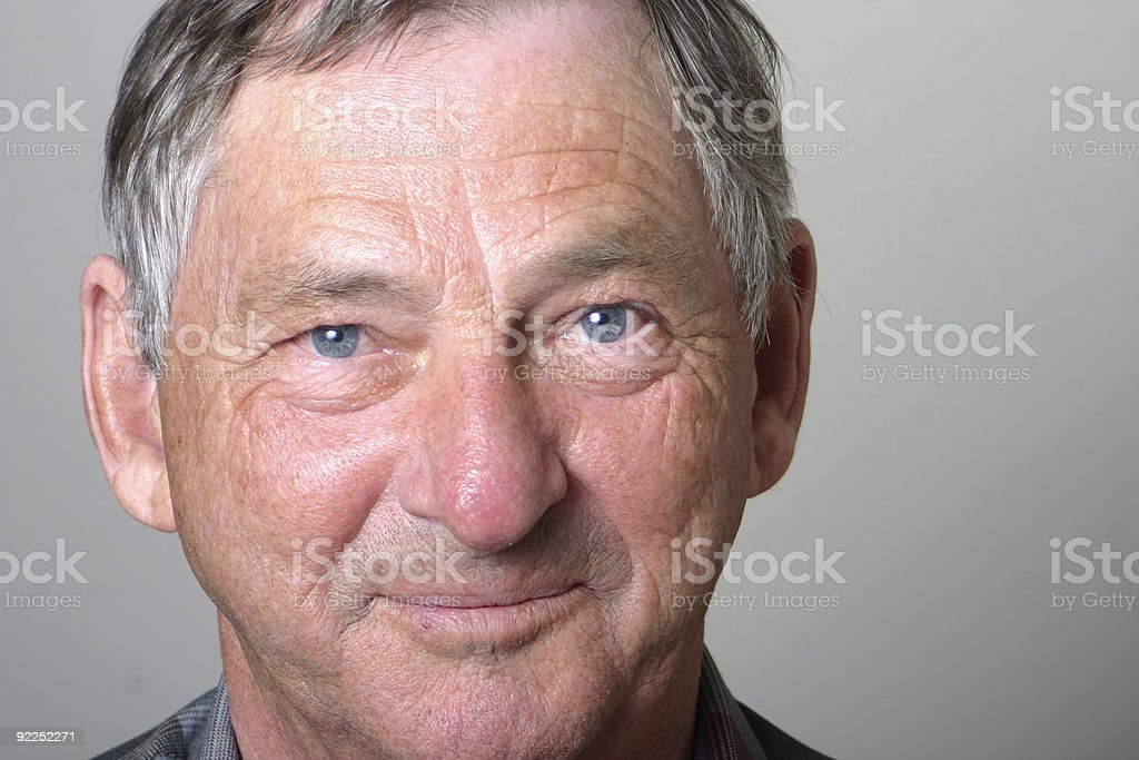 Honest Man stock photo