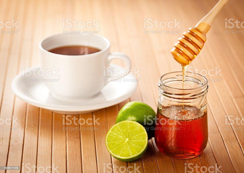 Honey & Lime stock photo