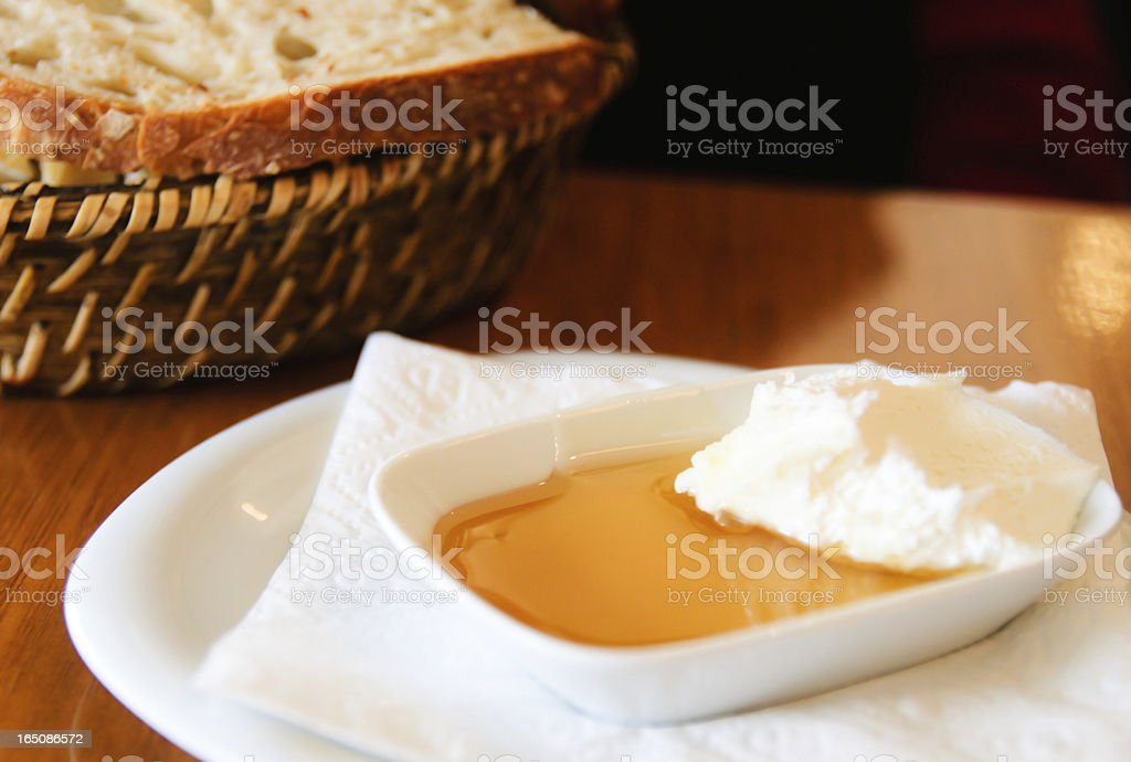 Honey butter royalty-free stock photo