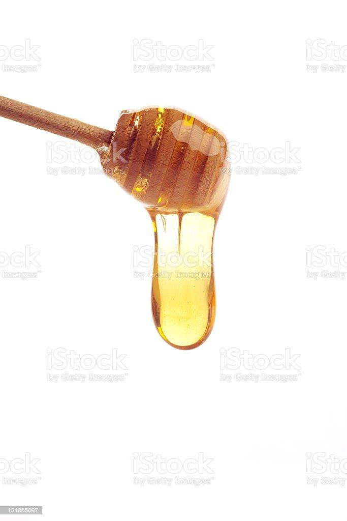Honey dipper stock photo
