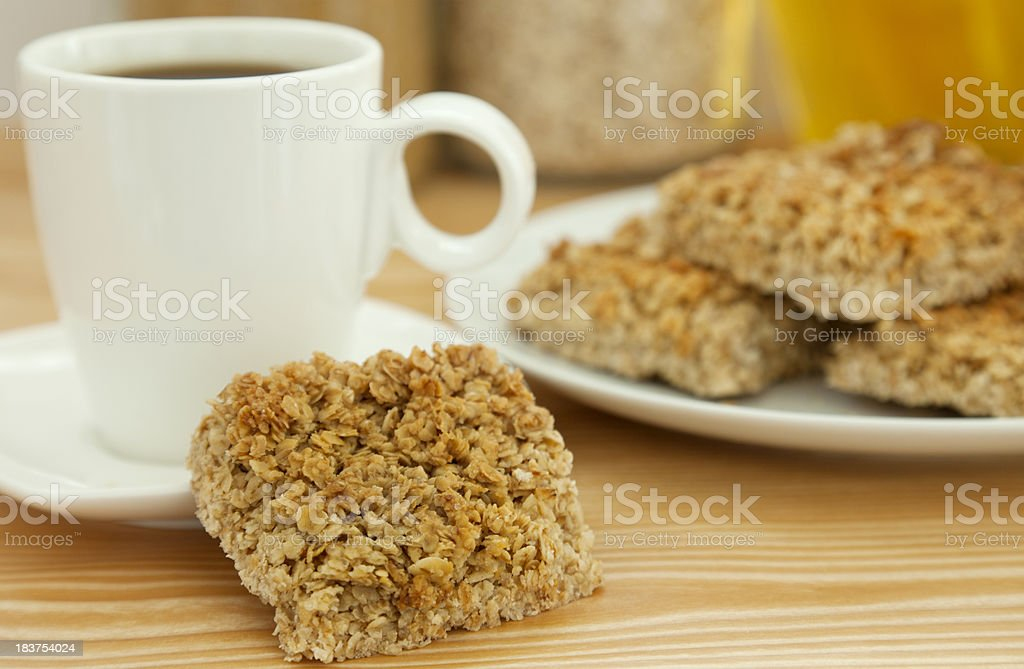 Honey Flapjack stock photo