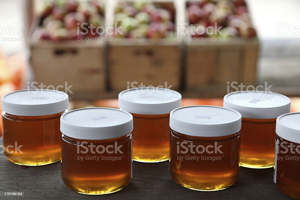 Honey For Sale stock photo