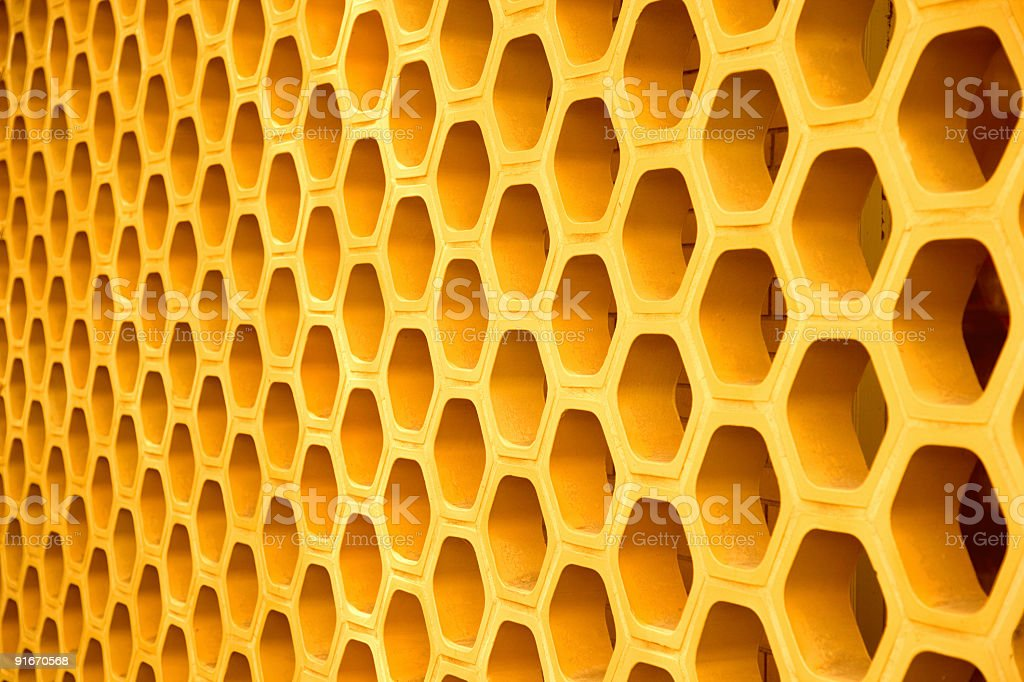 Honeycomb Details royalty-free stock photo