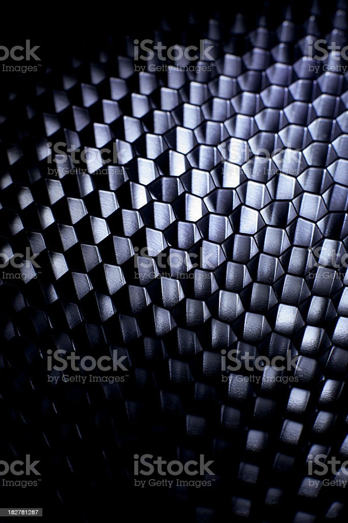 Honeycomb grid mesh background royalty-free stock photo