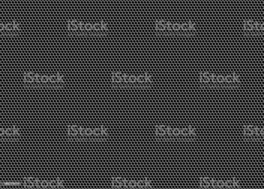 Honeycomb Grille Mesh stock photo