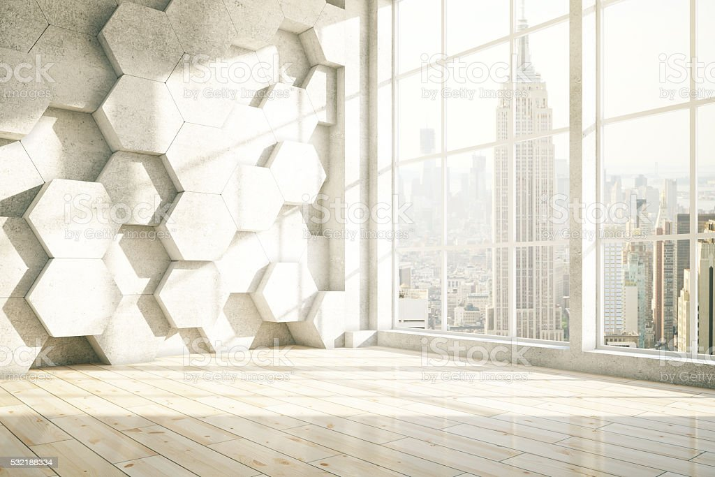 Honeycomb NYC stock photo