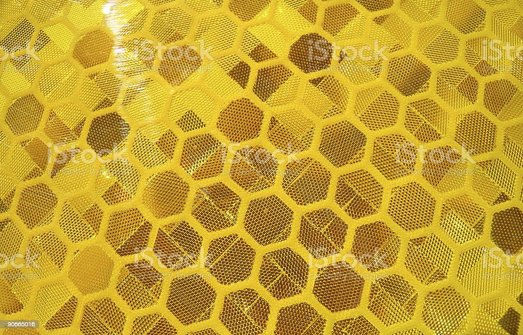 Honeycomb Reflector stock photo