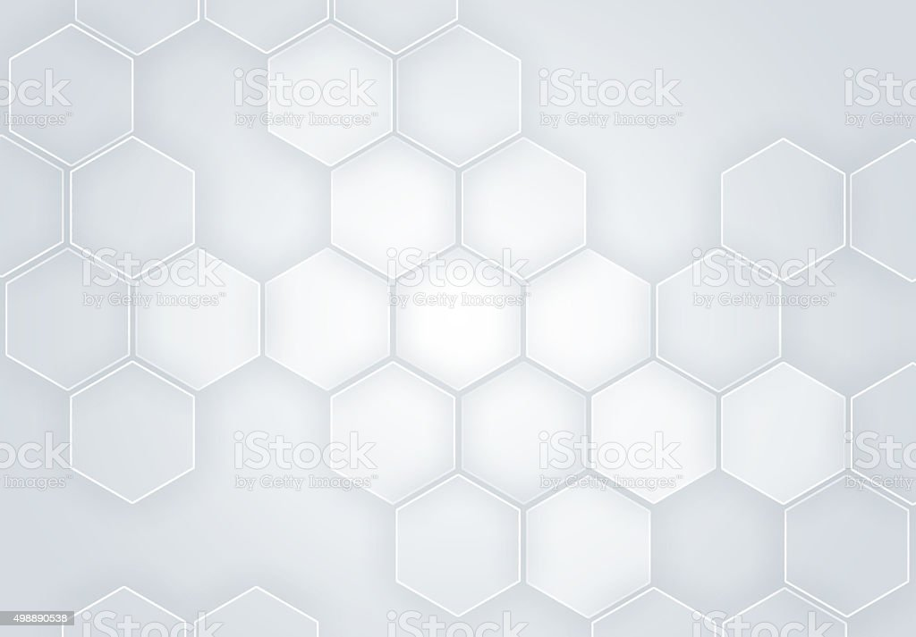 Honeycomb /  Technology concept (Click for more) stock photo