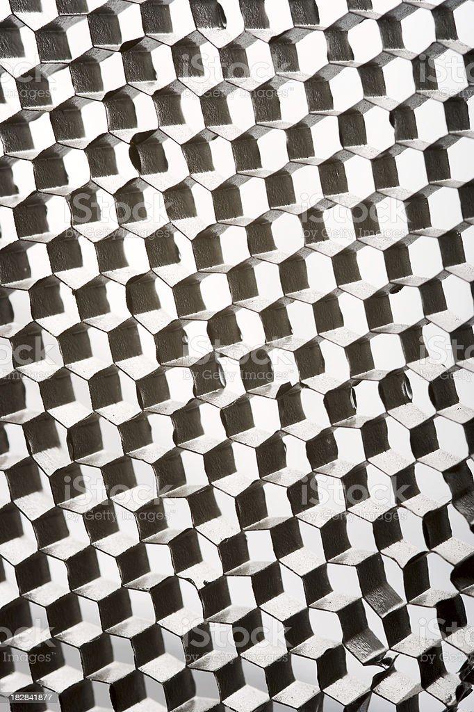 Honeycomb Texture royalty-free stock photo