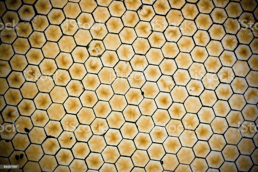 Honeycomb Textured Background stock photo