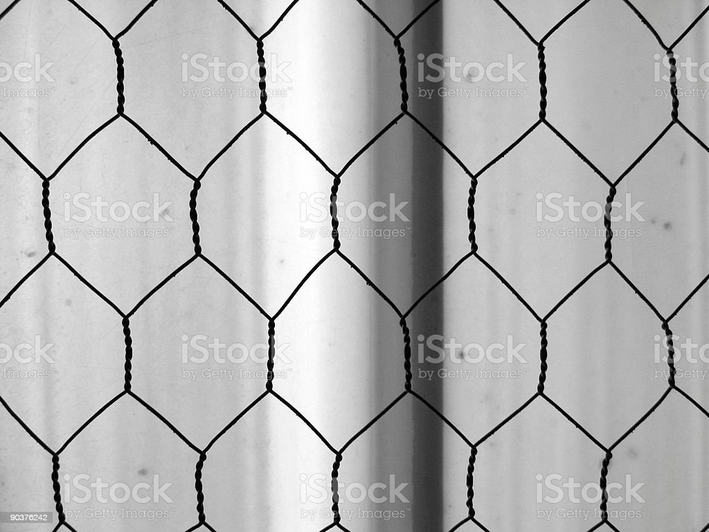 Honeycomb Wires stock photo