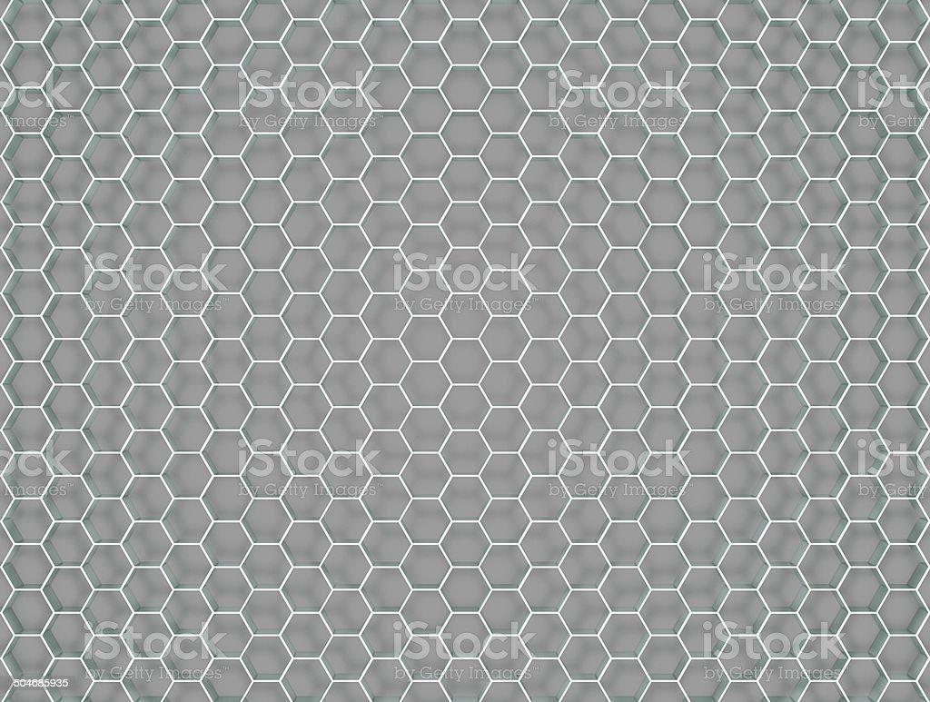 Honeycombed Background stock photo