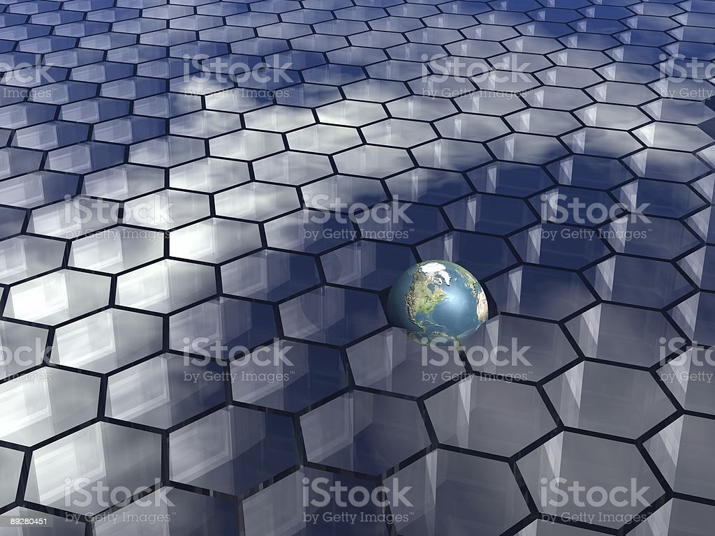 honeycombs background royalty-free stock photo