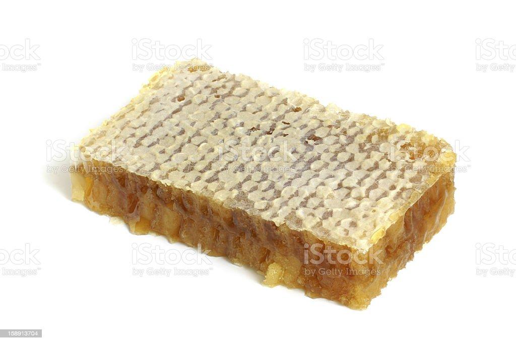 Honeycombs with honey royalty-free stock photo